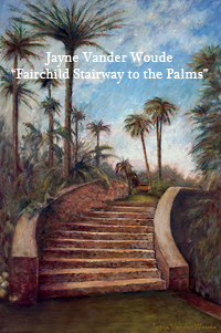 Fairchild Stairway to the Palms
