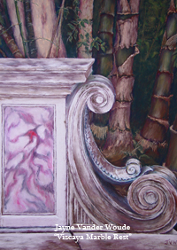 Vizcaya Marble Rest painting