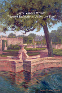 Vizcaya Reflections Under the Tree painting