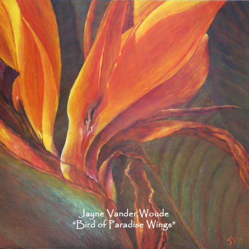 Bird Of Paradise Winged